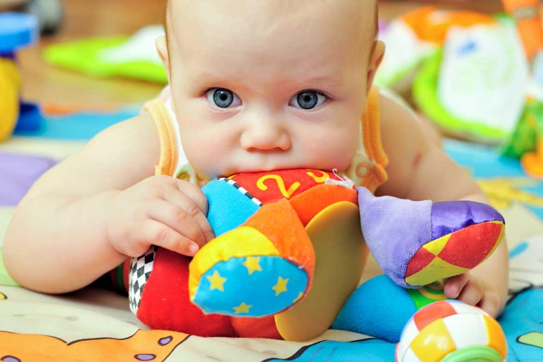 bava del neonato