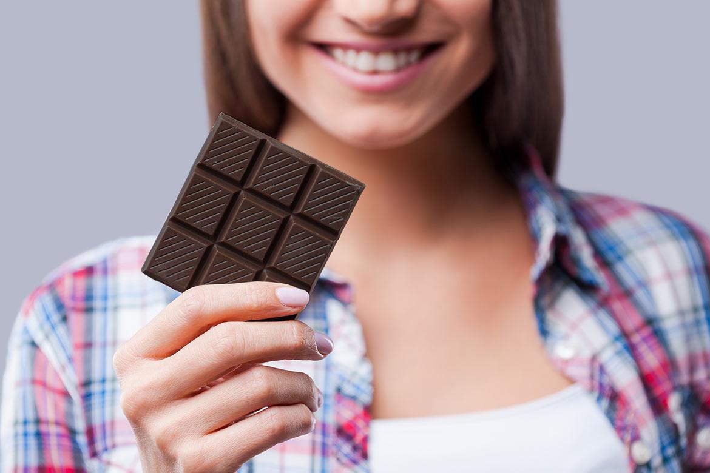 benefici del cioccolato fondente