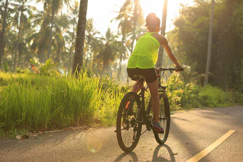 dimagrire pedalando