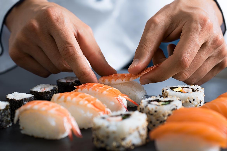 mangiare sushi pericoloso