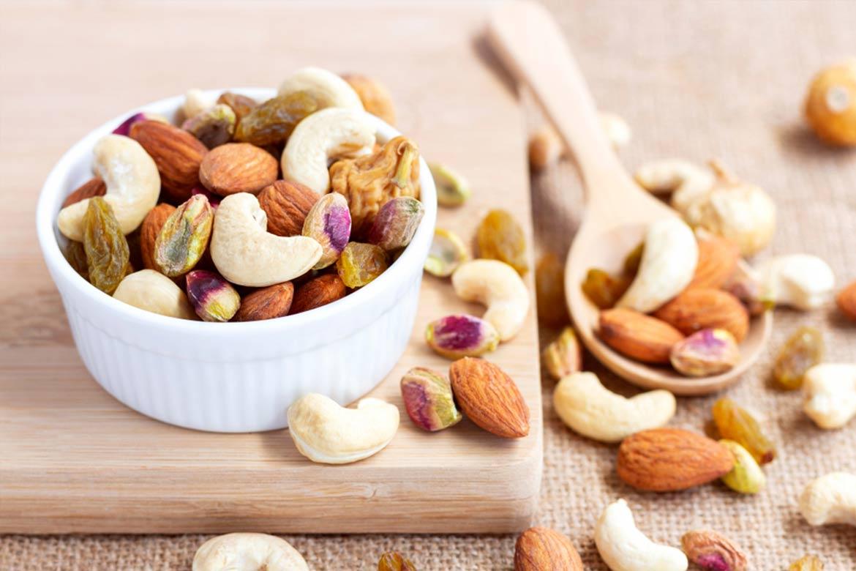 colesterolo frutta secca