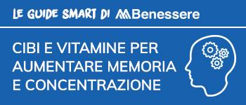 Guida: Cibi e vitamine per aumentare la memoria e la concentrazione