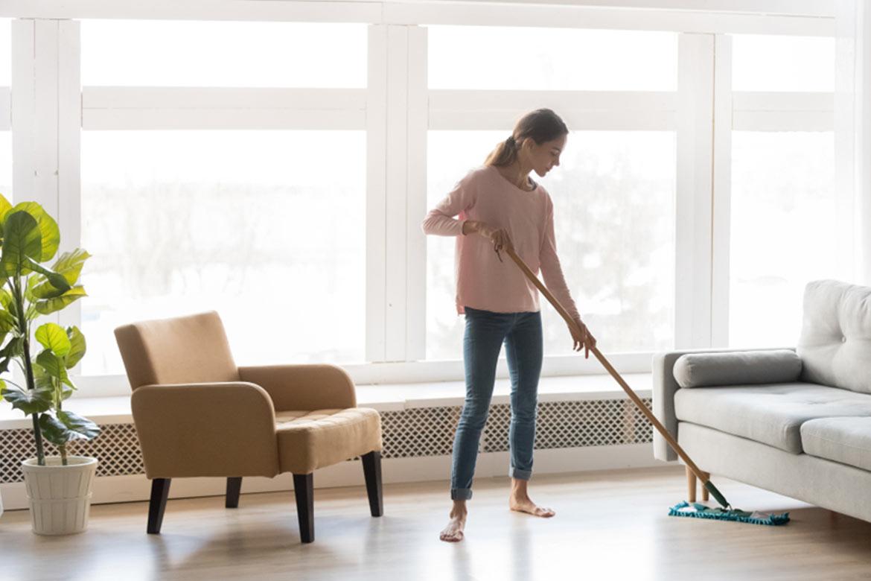polvere in casa